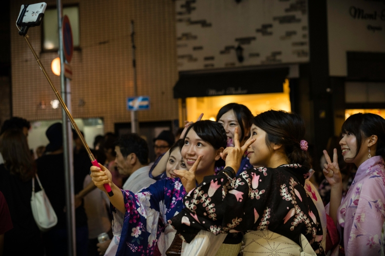 Where The Old Meets New, Azabu Juban Noryo Matsuri 2015, Tokyo