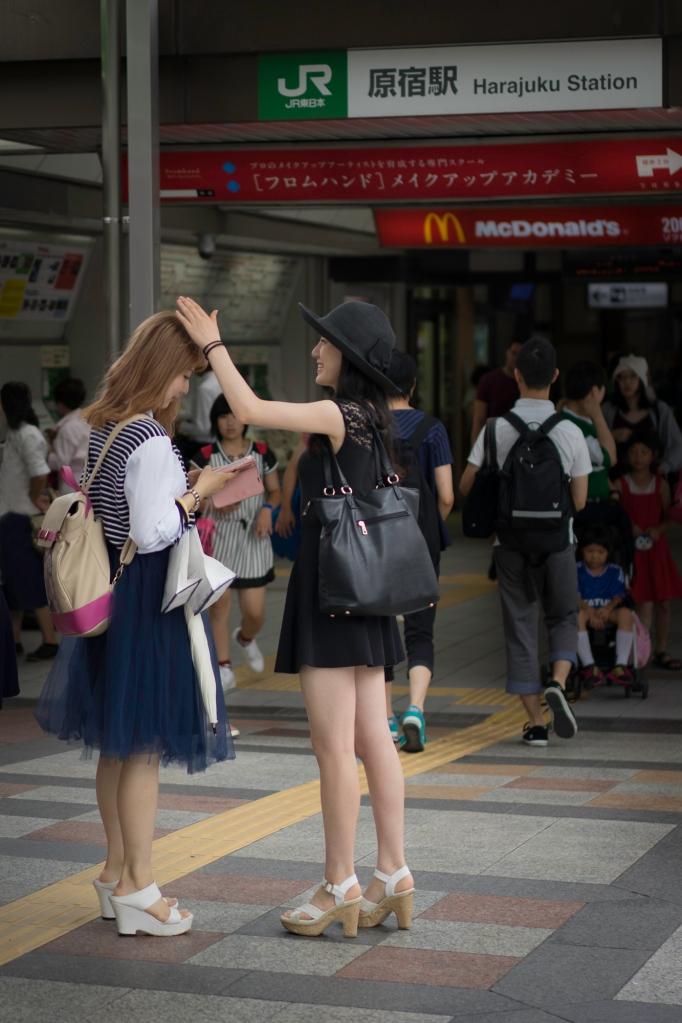 Girls Meeting in Harajuku Station, Tokyo