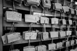 Ema (prayer tablet), Meiji Jingu, Tokyo