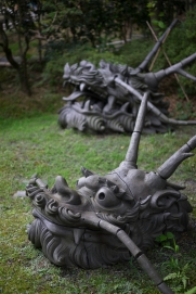 Temple Guardians, Kodai-ji Temple, Kyoto, Japan